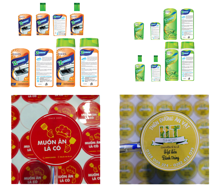 sản phẩm in decal giấy giá rẻ nhất